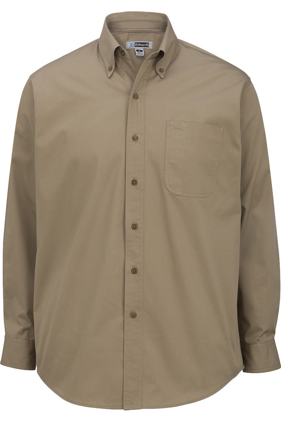 Edwards Mens Cottonplus Long Sleeve Twill Shirt