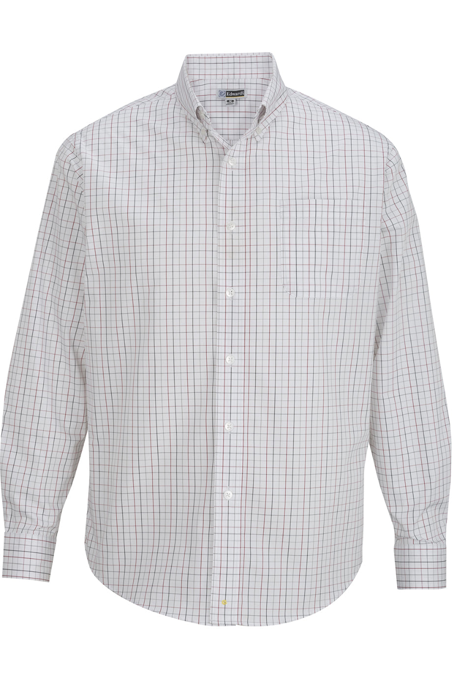 Brick Edwards Mens Tattersall Poplin Shirt