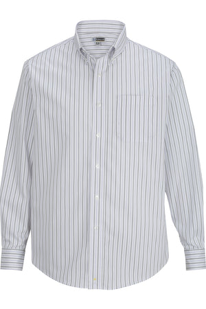 Lavender Edwards Mens Double Stripe Dress Poplin Shirt