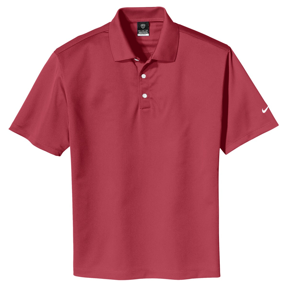 Pro Red Nike Tech Basic Dri-FIT Polo.