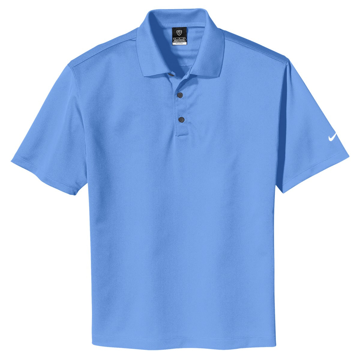 University Blue Nike Tech Basic Dri-FIT Polo.