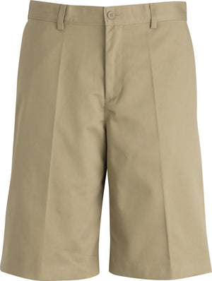Edwards Mens Utility Chino Flat Front Short