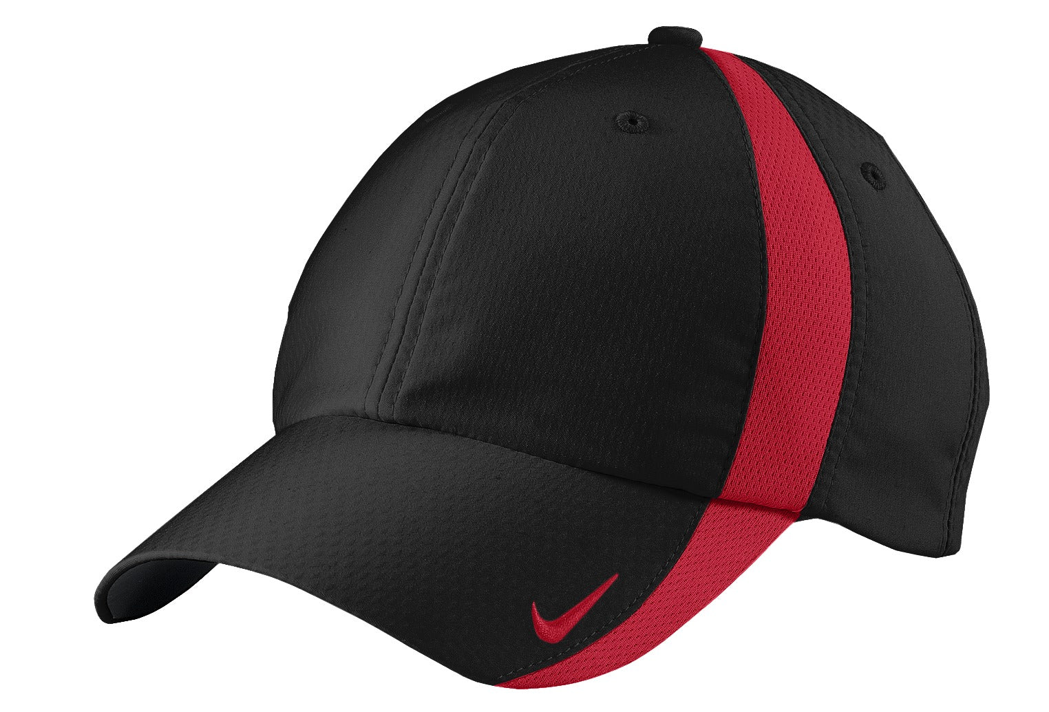 Black / Gym Red Nike Sphere Dry Cap