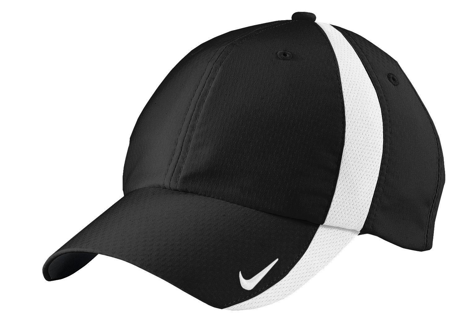 Black / White Nike Sphere Dry Cap