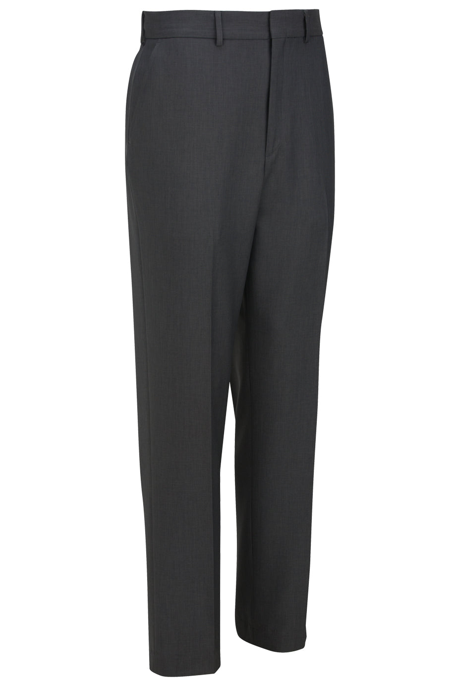 Steel Grey Edwards Mens Synergy Washable Traditional Fit Flat Front Pant - Steel Grey
