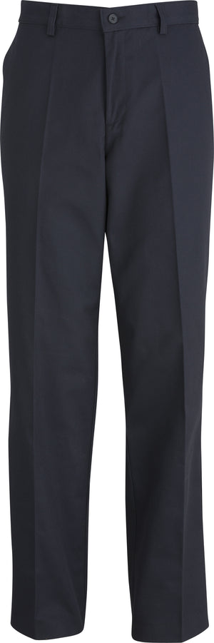 Edwards Mens Utility Chino Flat Front Pant - Navy