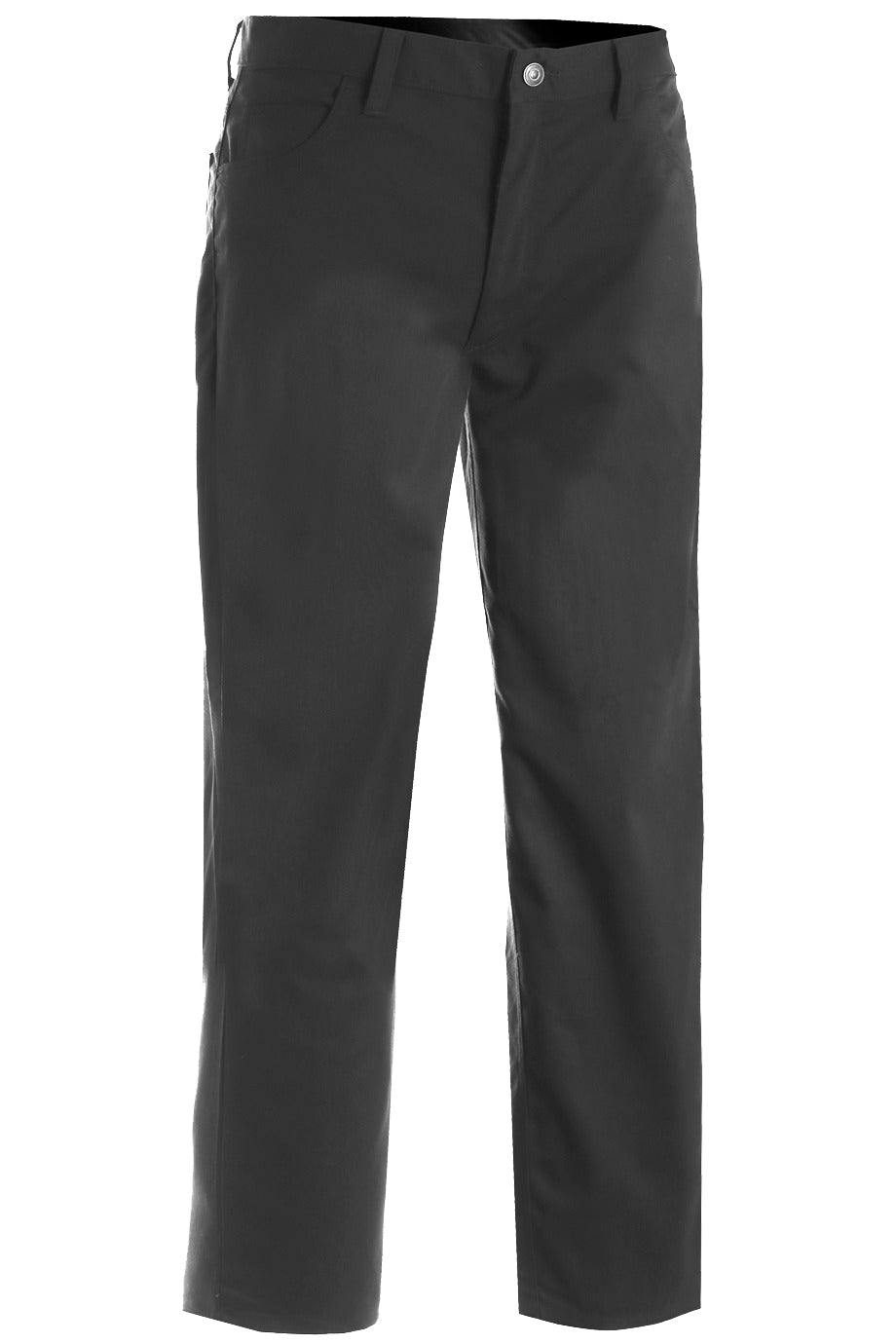 Edwards Mens Rugged Comfort Flat Front Pant - Grey