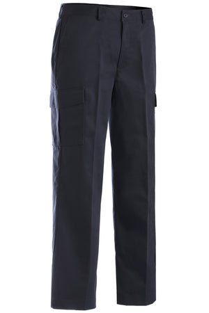 Edwards Mens Blended Chino Cargo Pant - Navy