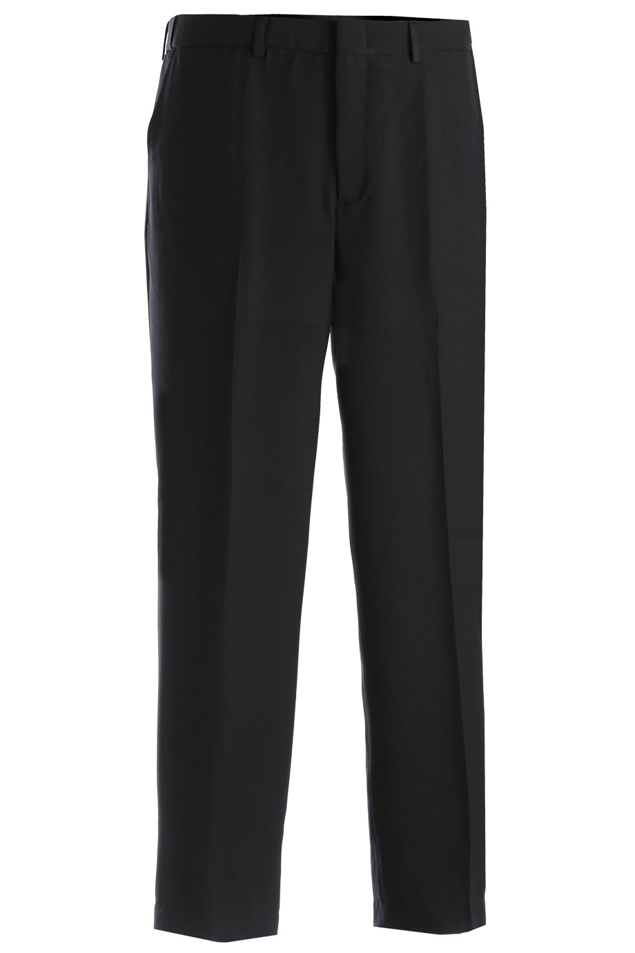 Edwards Mens Intaglio Flat Front Easy Fit Pant - Black