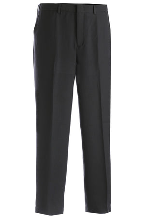 Edwards Mens Intaglio Flat Front Easy Fit Pant - Grey