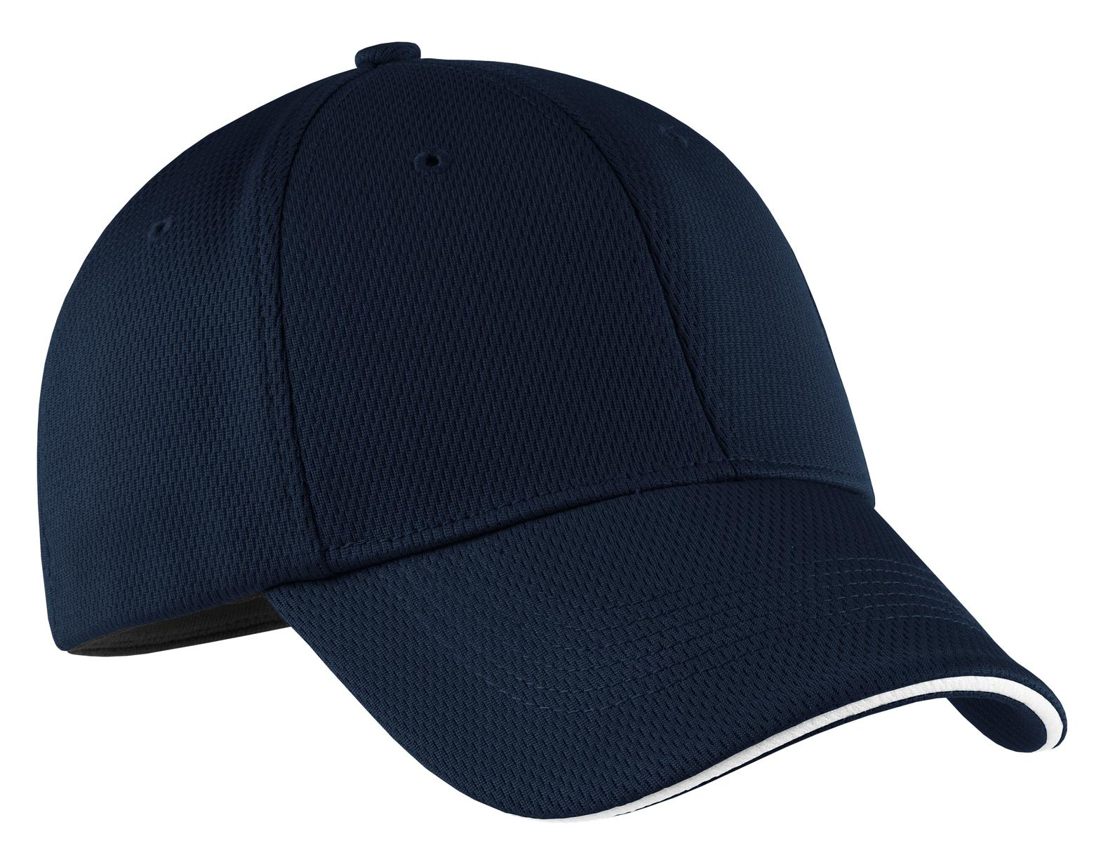 Pacific Blue Nike Dri-FIT Mesh Swoosh Flex Sandwich Cap
