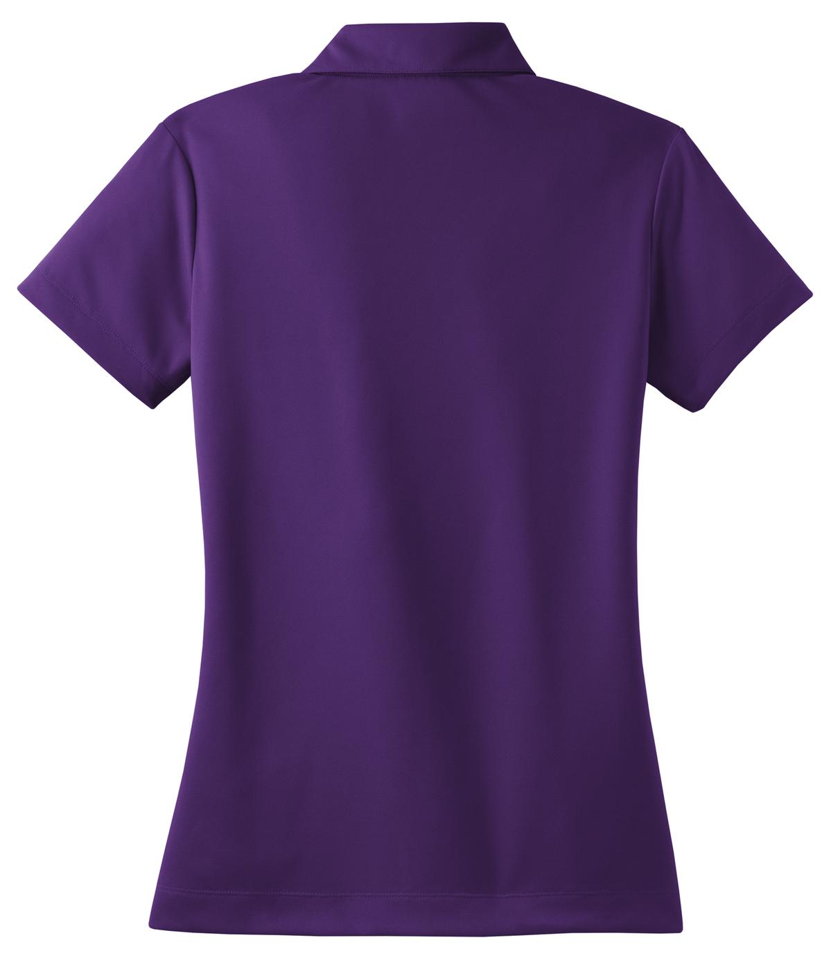 Night Purple Nike Ladies Dri-FIT Micro Pique Polo.