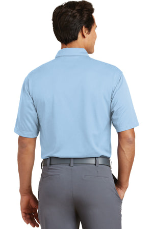 Cirrus Blue Nike Dri-FIT Pebble Texture Polo.