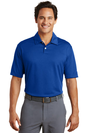 Varsity Royal Nike Dri-FIT Pebble Texture Polo.