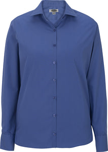 Edwards Ladies Lightweight Long Sleeve Poplin Blouse
