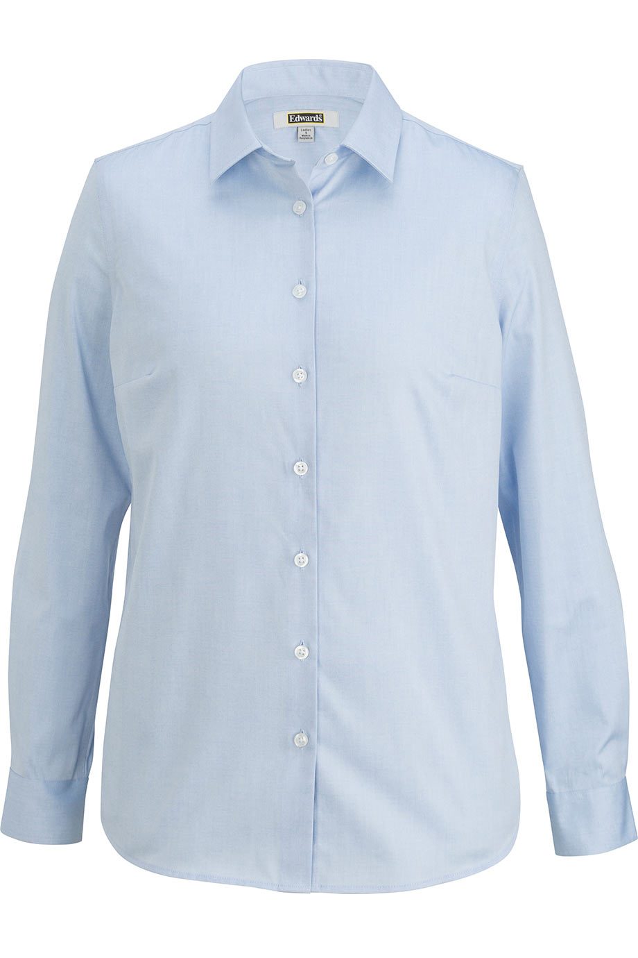 Edwards Ladies Oxford Wrinkle-Free Shirt