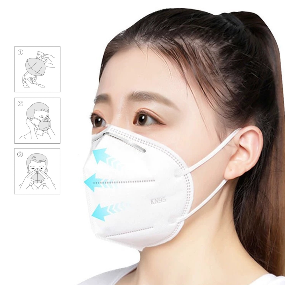 Extra Protection KN95 Face Mask (Non-Medical)
