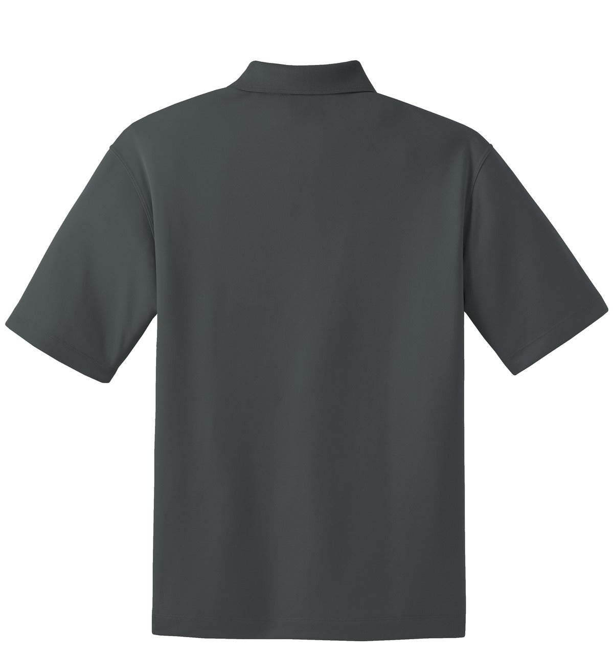 Anthracite Nike Tall Dri-FIT Micro Pique Polo.