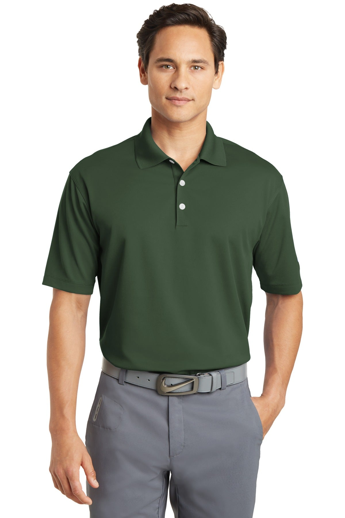 Fir Nike Tall Dri-FIT Micro Pique Polo.