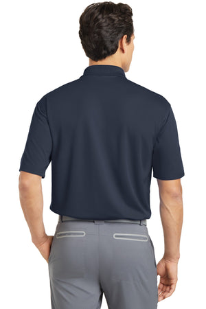 Navy Nike Tall Dri-FIT Micro Pique Polo.