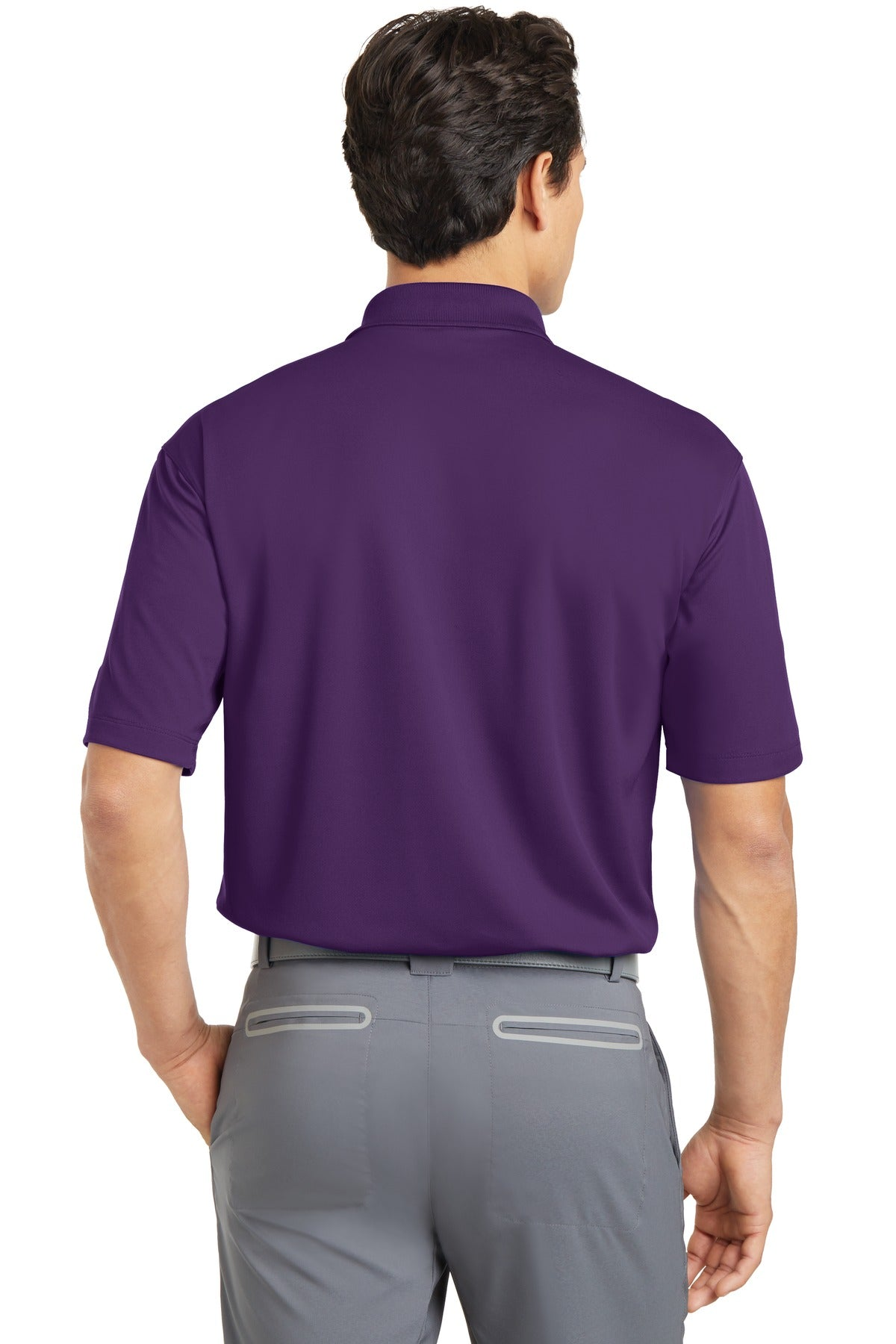 Night Purple Nike Tall Dri-FIT Micro Pique Polo.