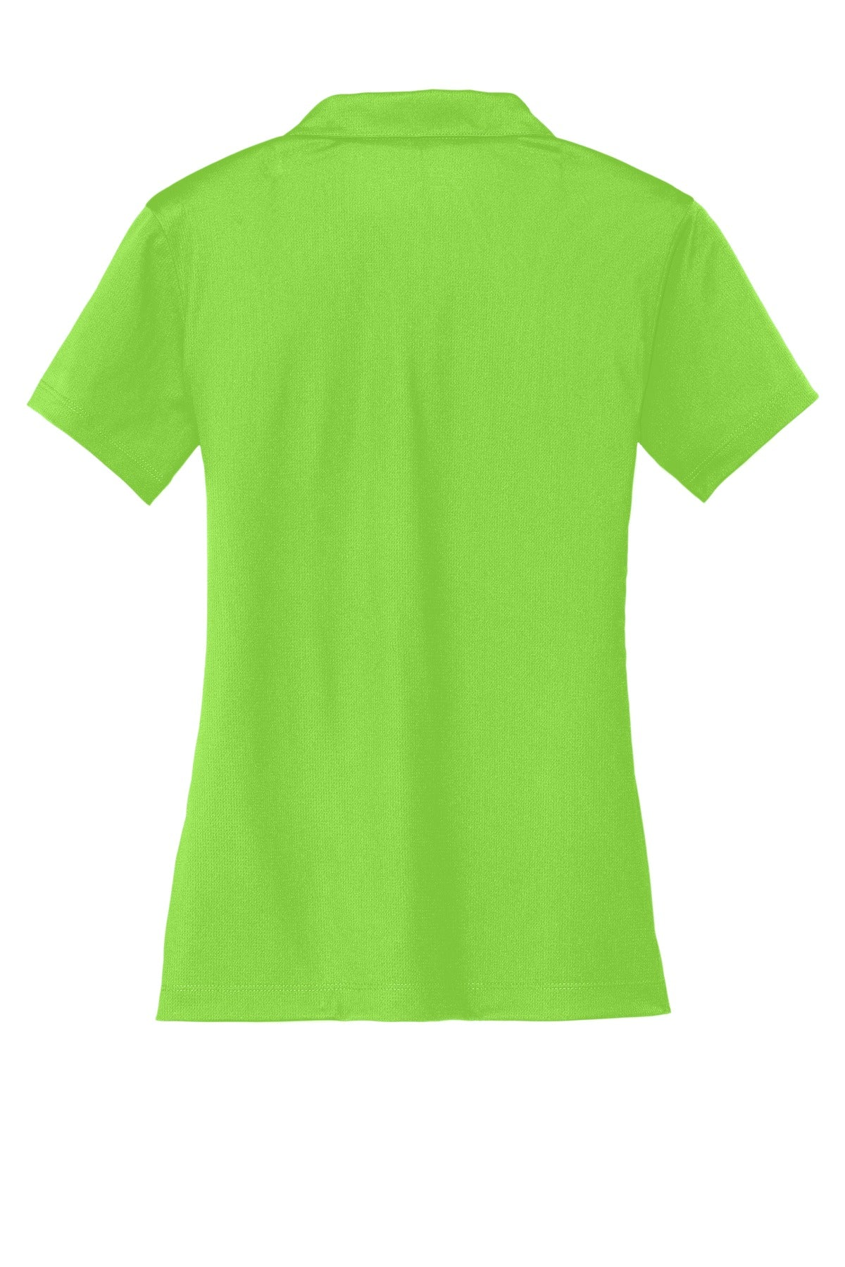 Action Green Nike Ladies Dri-FIT Vertical Mesh Polo.