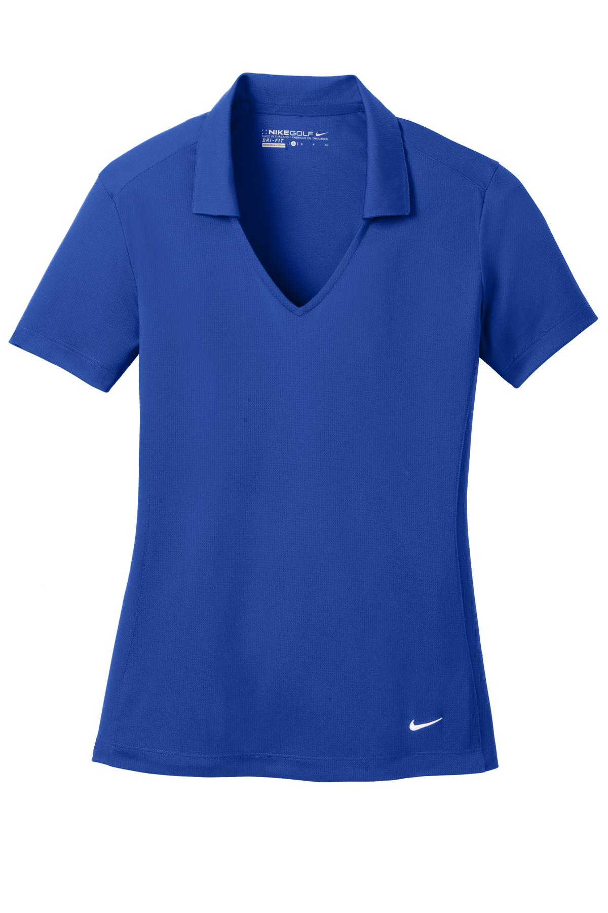Old Royal Nike Ladies Dri-FIT Vertical Mesh Polo.