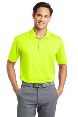Volt Nike Dri-FIT Vertical Mesh Polo.