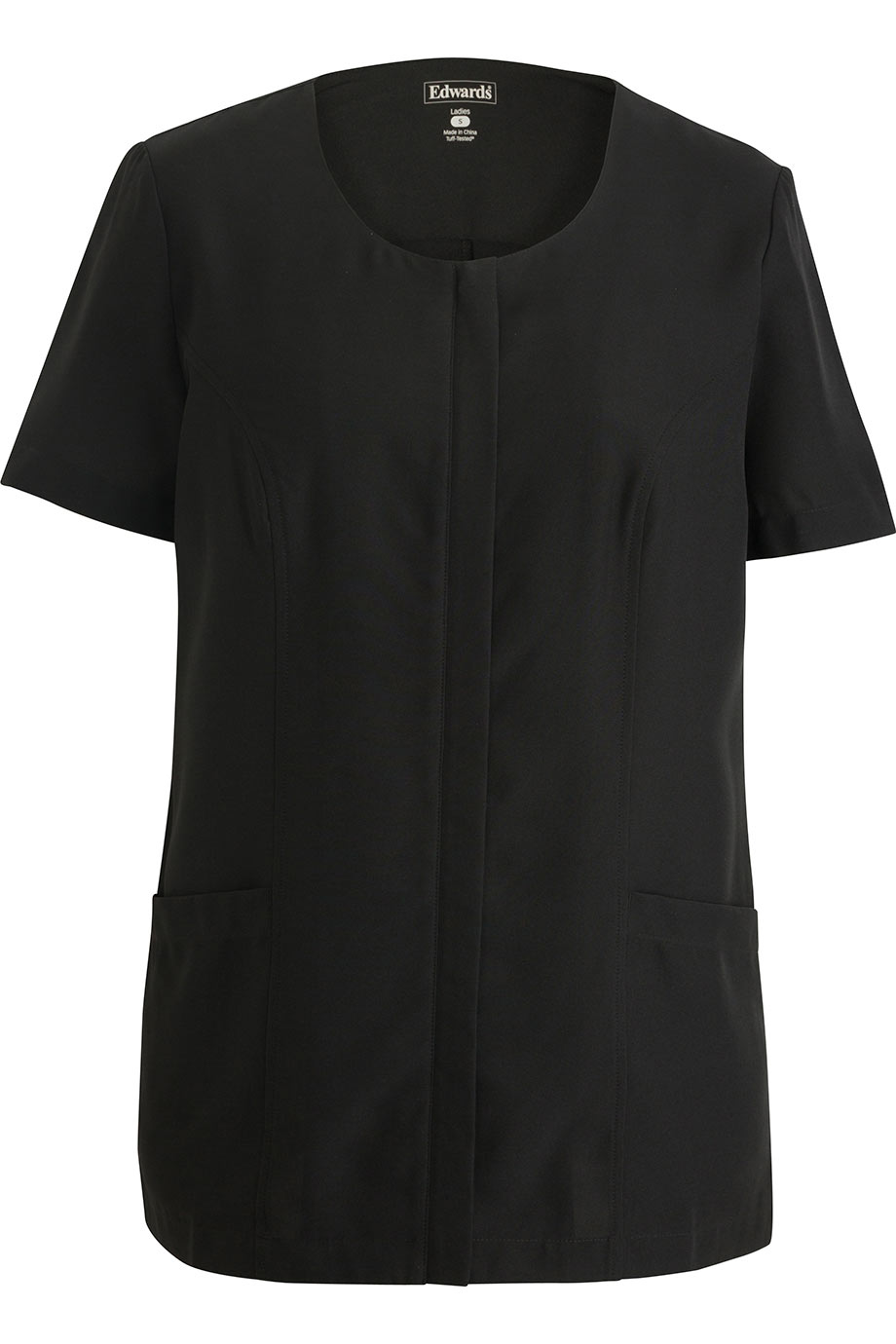 Edwards Ladies Scoop Neck Spun Poly Tunic