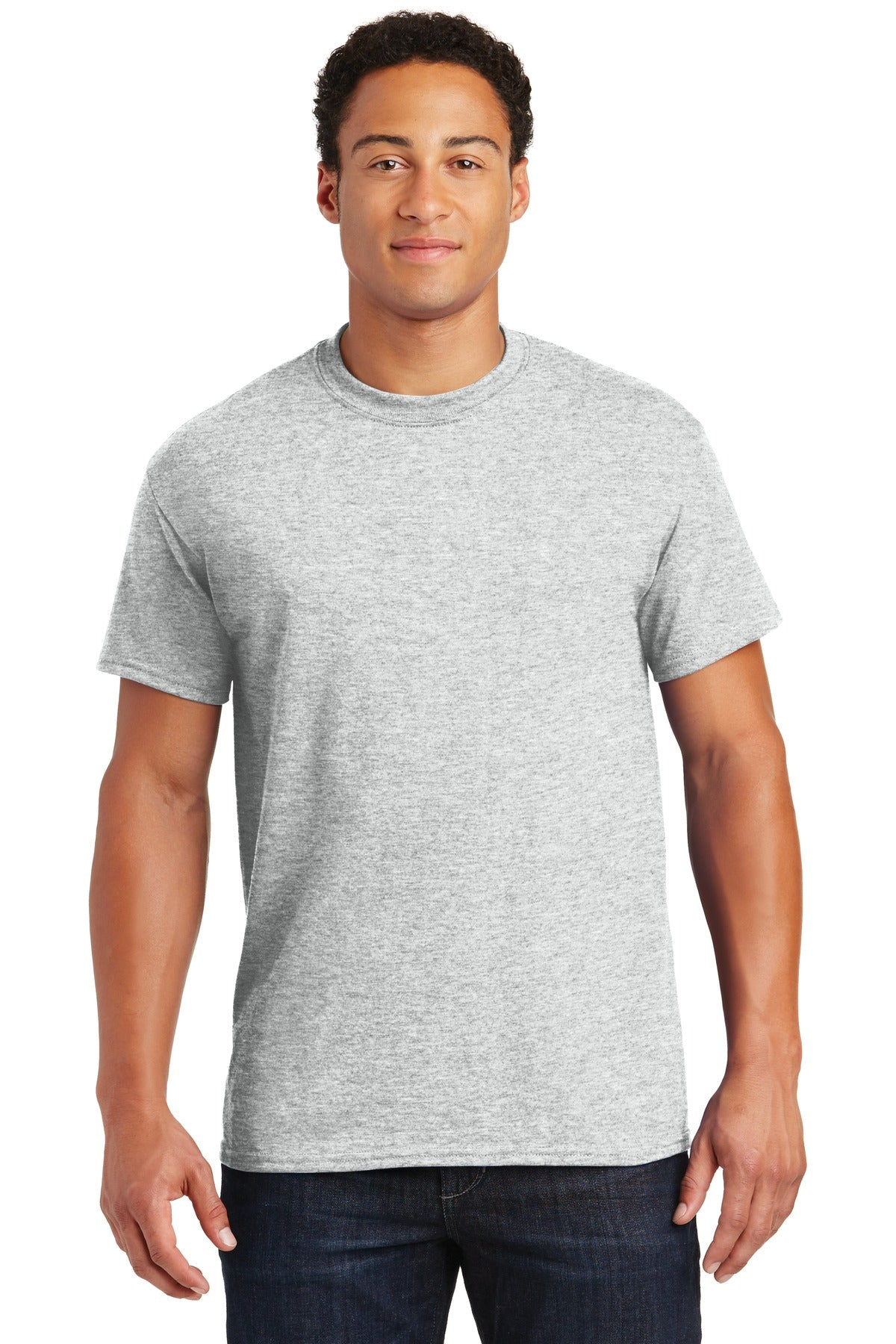 Ash Gildan DryBlend 50 Cotton/50 Poly T-Shirt.