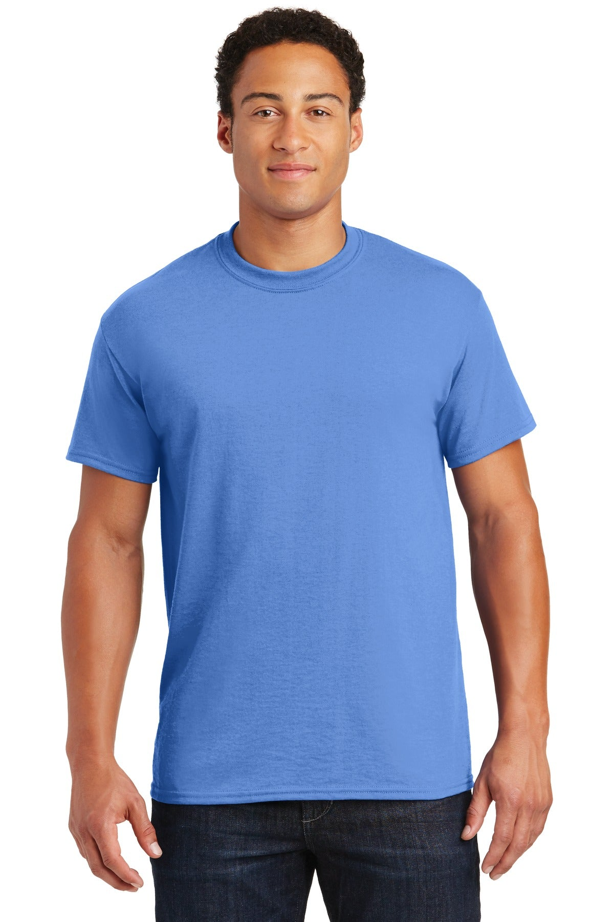 Carolina Blue Gildan DryBlend 50 Cotton/50 Poly T-Shirt.