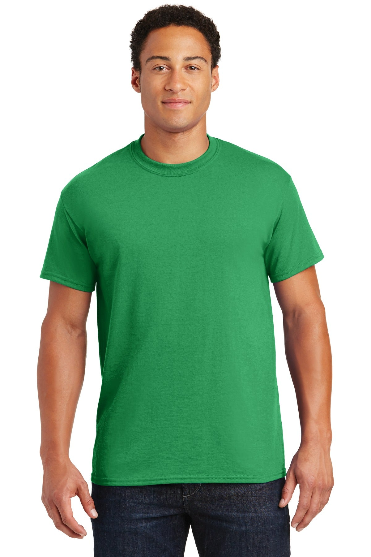Irish Green Gildan DryBlend 50 Cotton/50 Poly T-Shirt.