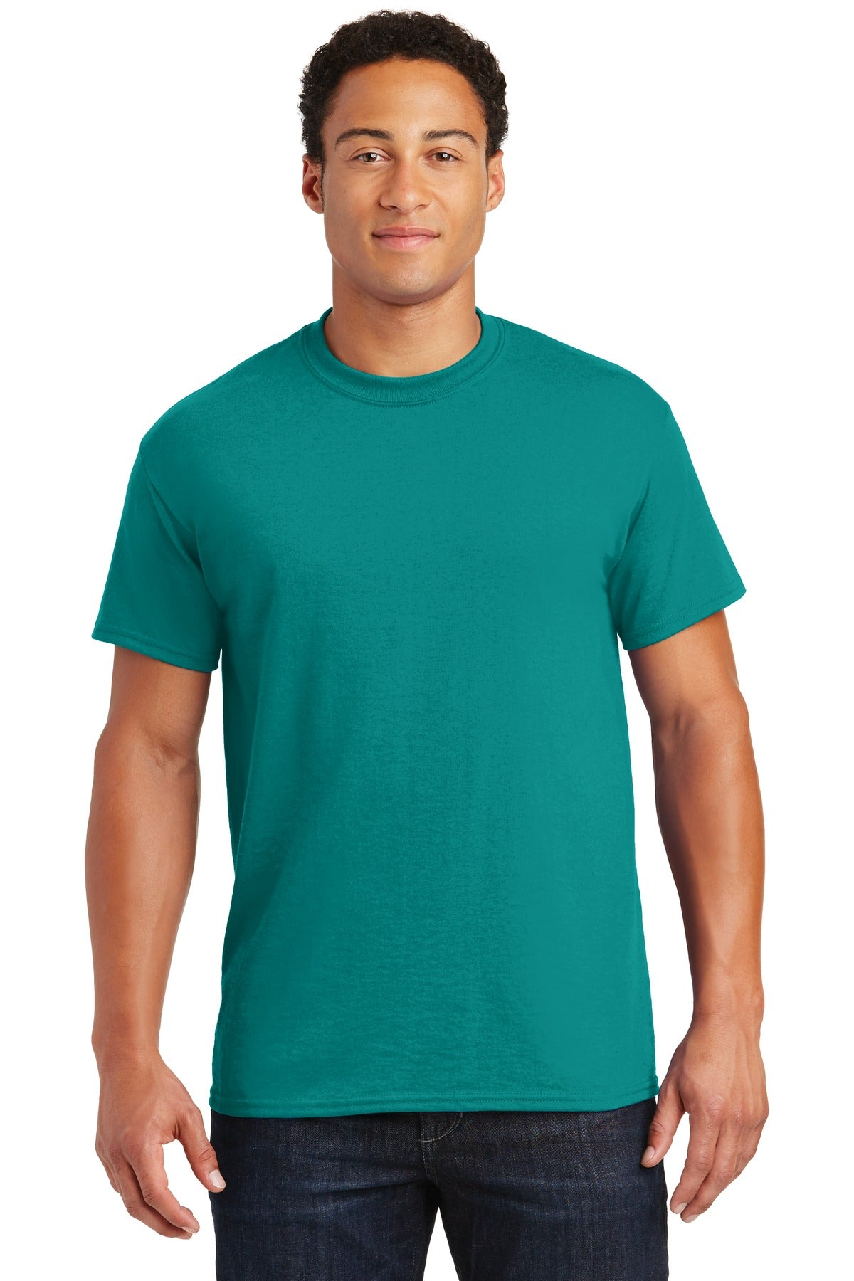 Jade Dome Gildan DryBlend 50 Cotton/50 Poly T-Shirt.