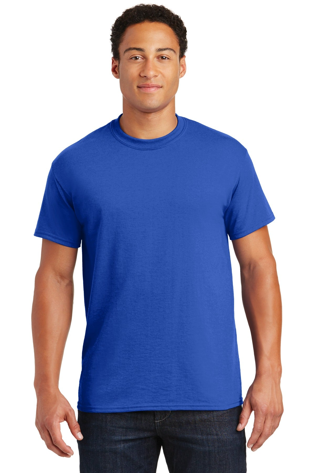 Royal Gildan DryBlend 50 Cotton/50 Poly T-Shirt.