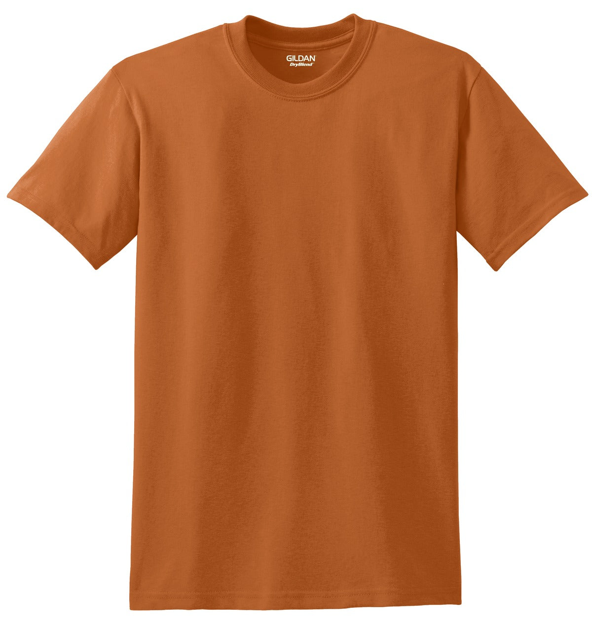 Texas Orange Gildan DryBlend 50 Cotton/50 Poly T-Shirt.