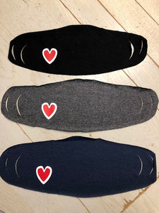 Heart Mask (Pack of 3)