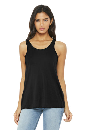 BELLA+CANVAS  Womens Flowy Racerback Tank