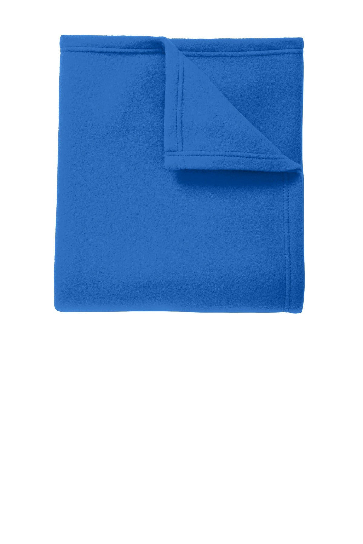 Snorkel Blue Port Authority Core Fleece Blanket.