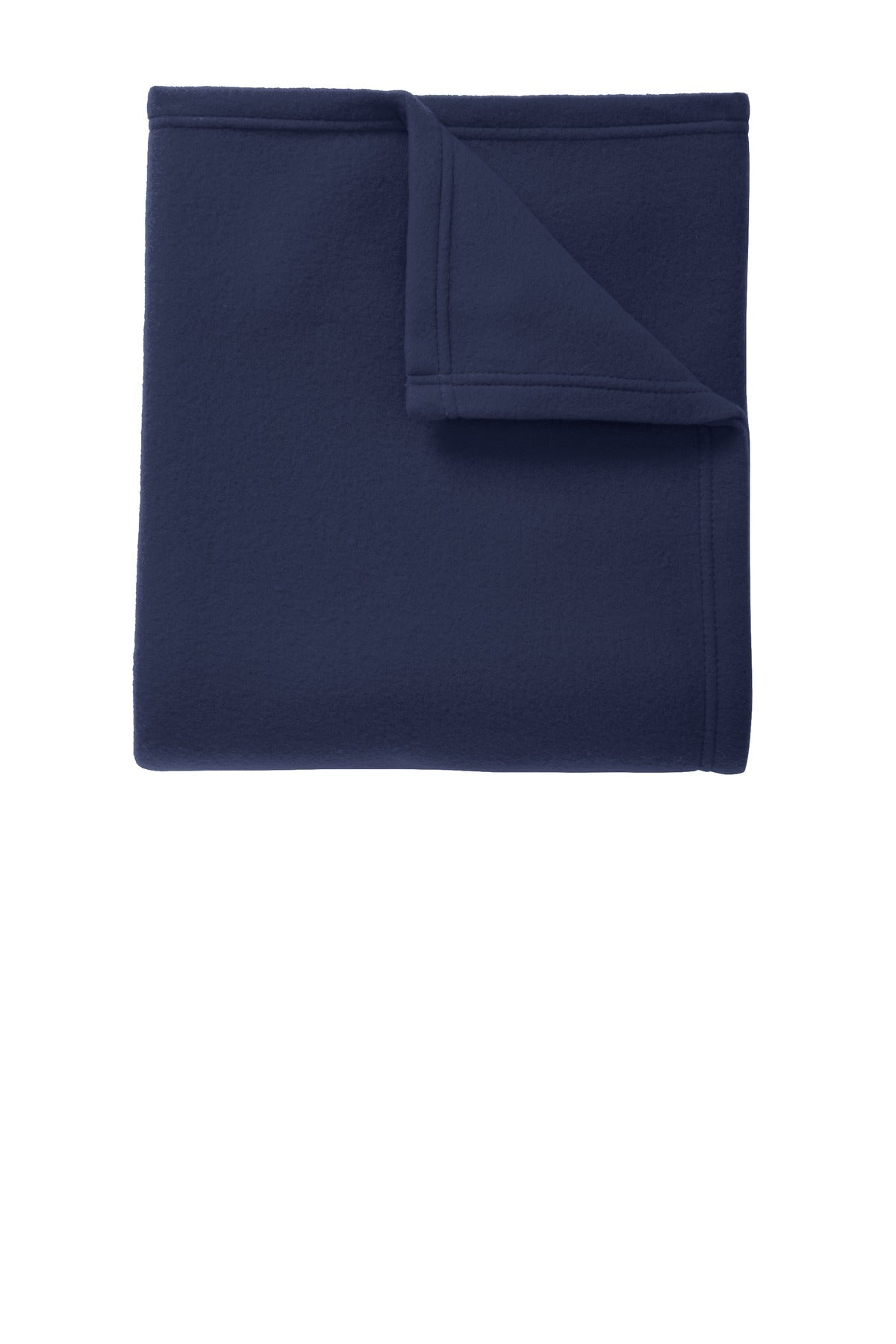 True Navy Port Authority Core Fleece Blanket.