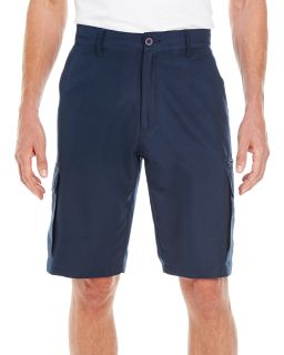 Mens Microfiber Cargo Short-Burnside Mens Microfiber Cargo Short