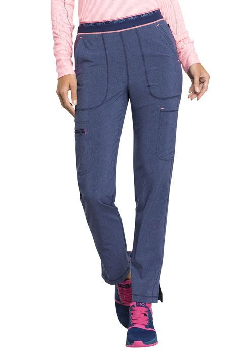 CK050A Mid Rise Tapered Leg Pull-on Pant