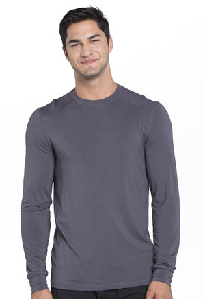 CK650A Mens Long Sleeve Underscrub Knit Top