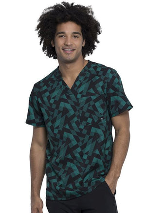 CK902 Mens V-Neck Top