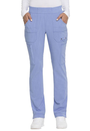 DK195 Mid Rise Tapered Leg Pull-on Pant