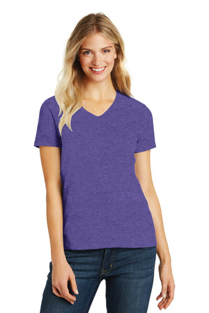 District Womens Perfect Blend V-Neck Tee