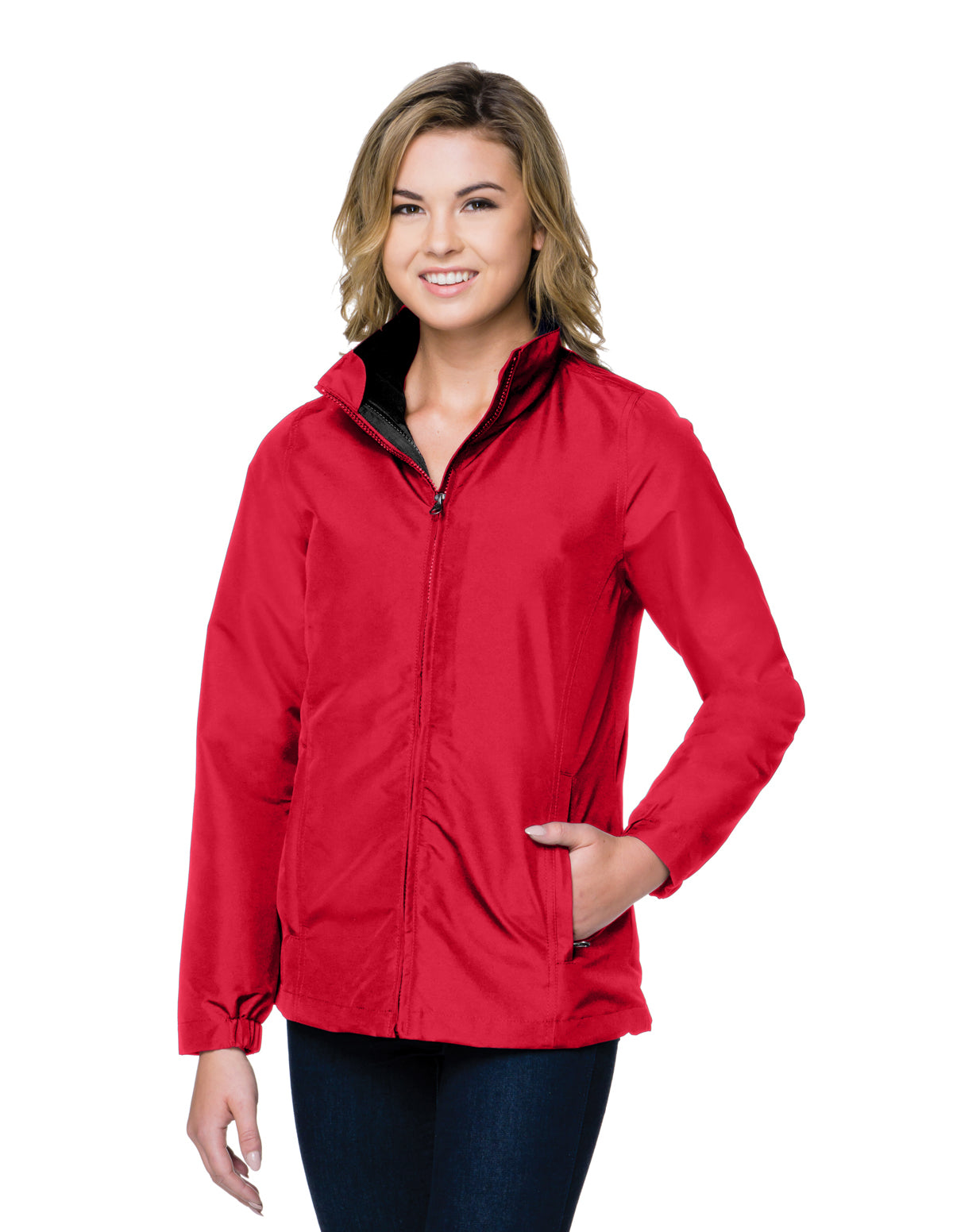 Hallowell-Womens 3-In-1 Jacket Features A Shell Constructed Of Windproof/Water-Resistant Polyester