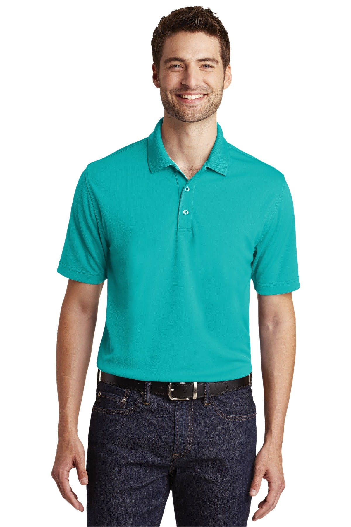 Stone Port Authority Heavyweight Cotton Pique Polo.
