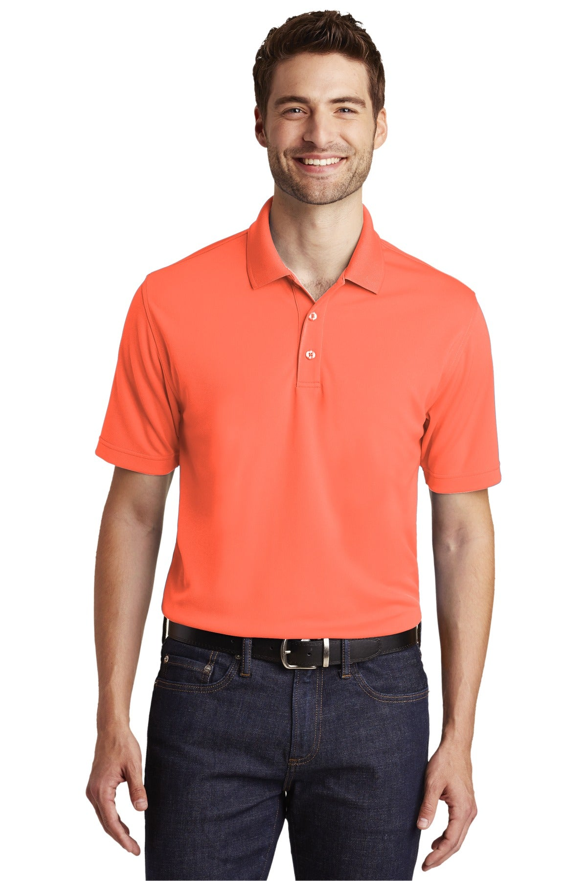 Royal Port Authority Heavyweight Cotton Pique Polo.