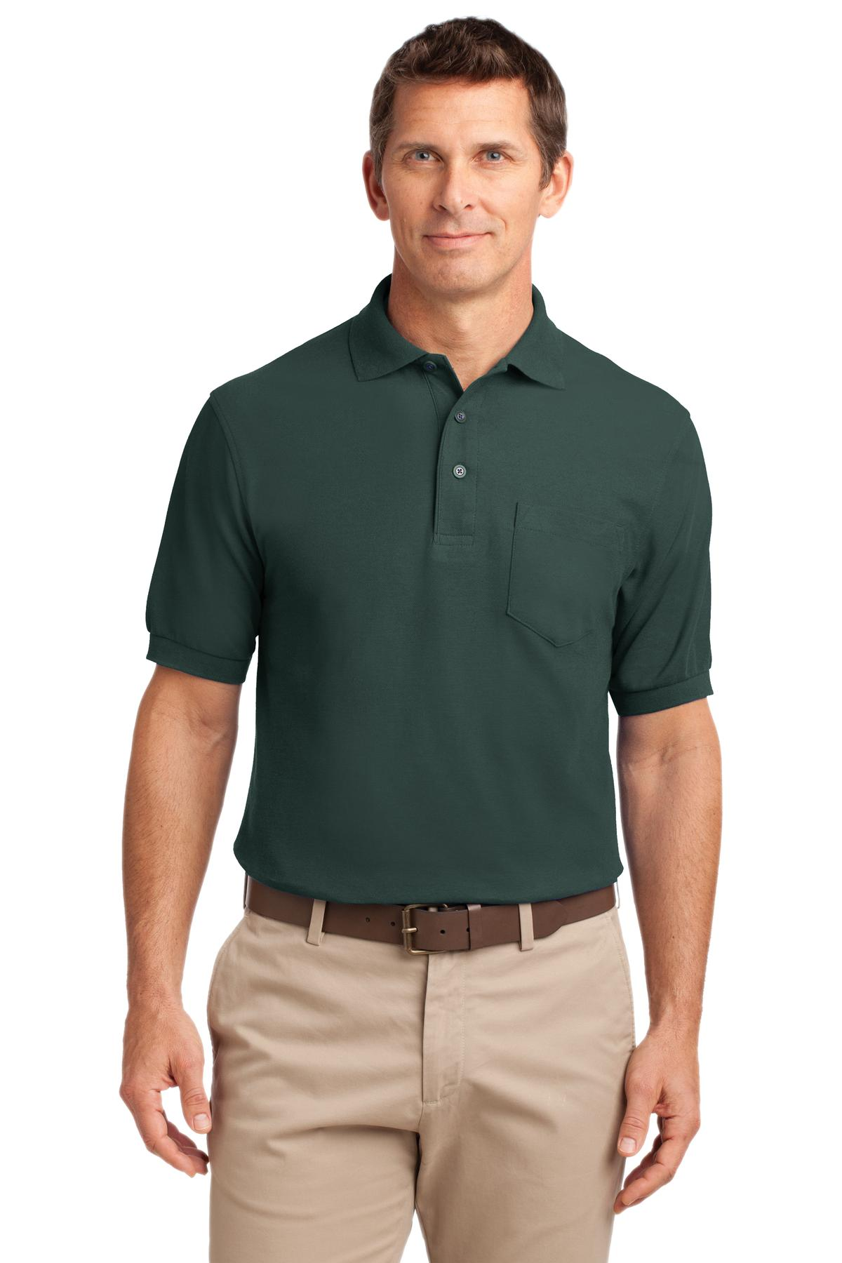 Vine Green Port Authority Stain-Release Polo.