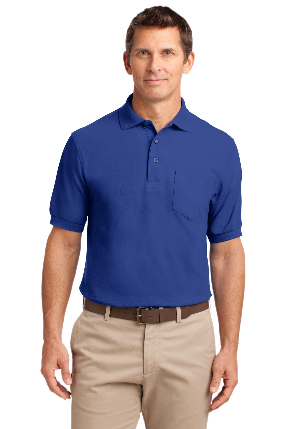Blue Lake Port Authority Dry Zone® Ottoman Polo.